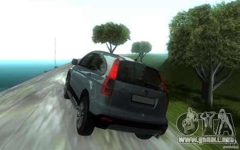 Honda CR-V para GTA San Andreas vista posterior izquierda