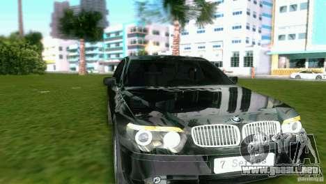 BMW 7-Series 2002 para GTA Vice City left