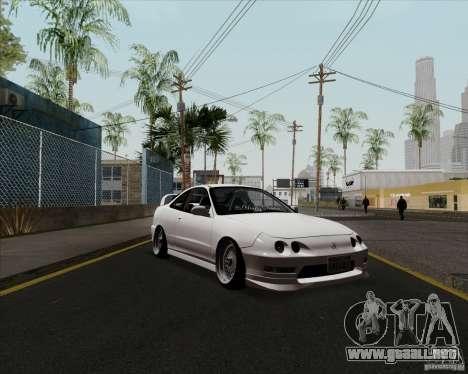 Acura Integra para GTA San Andreas left