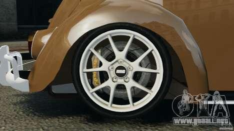 Volkswagen Fusca Gran Luxo v2.0 para GTA 4 interior