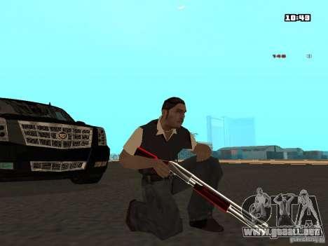 White Red Gun para GTA San Andreas tercera pantalla