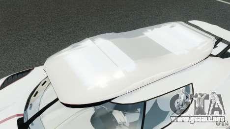 Koenigsegg Agera R v2.0 [EPM] para GTA 4 ruedas