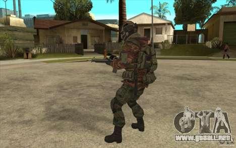 Bandera de las fuerzas especiales para GTA San Andreas sucesivamente de pantalla