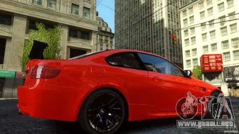 BMW M3 GTS Final para GTA 4 Vista posterior izquierda