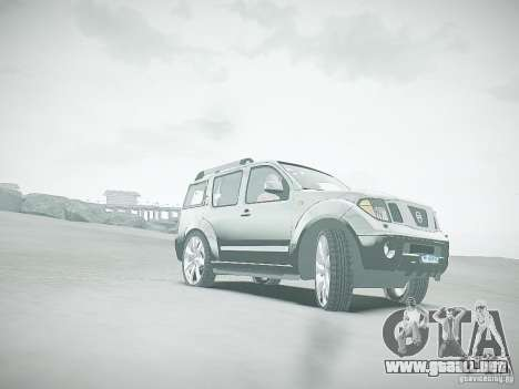 Nissan Pathfinder 2010 para GTA 4 vista superior