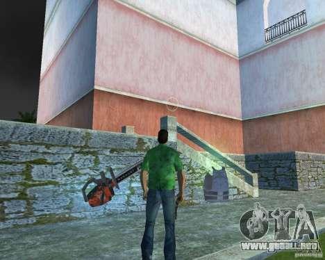 Motosierra para GTA Vice City tercera pantalla