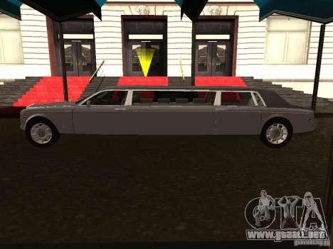 Rolls-Royce Phantom Limousine 2003 para GTA San Andreas left