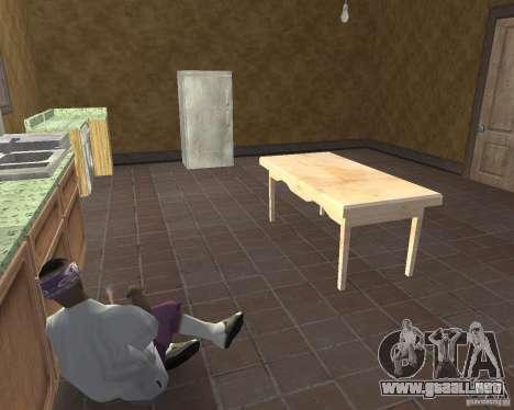Revitalización de drogas den v1.0 para GTA San Andreas quinta pantalla