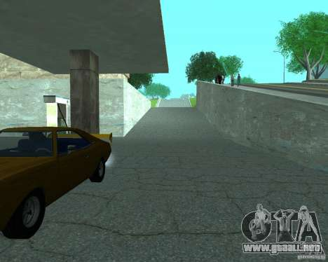 Nuevo letrero. nueva gasolinera. para GTA San Andreas tercera pantalla