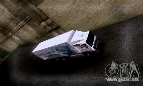 Volvo F10 para la visión correcta GTA San Andreas