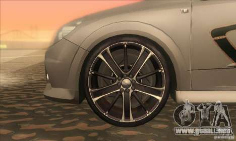 Opel Astra GTC DIM v1.0 para visión interna GTA San Andreas