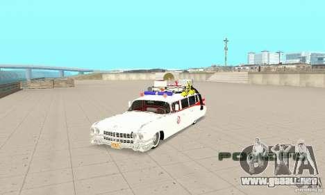 Ghostbusters ECTO 1 para GTA San Andreas
