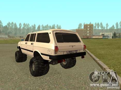 31022 Volga GAS 4 x 4 para la visión correcta GTA San Andreas