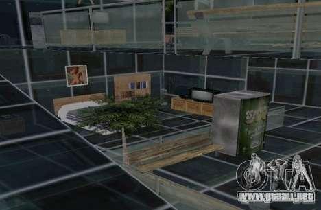 Casa de dos pisos para GTA San Andreas sucesivamente de pantalla