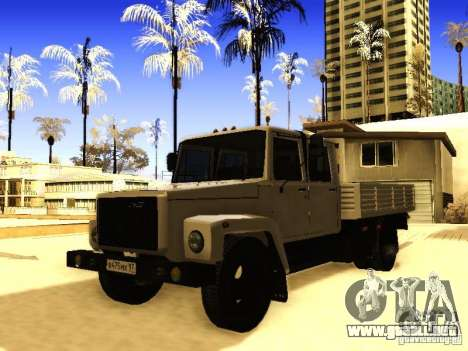 GAZ 3309 doble fila para GTA San Andreas
