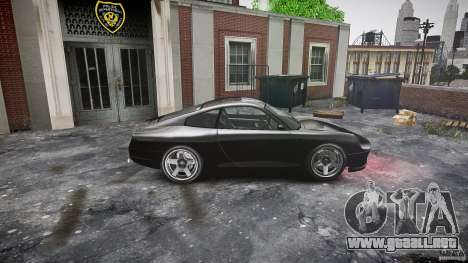Comet FBI car para GTA 4 left