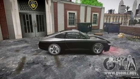 Comet FBI car para GTA 4 left