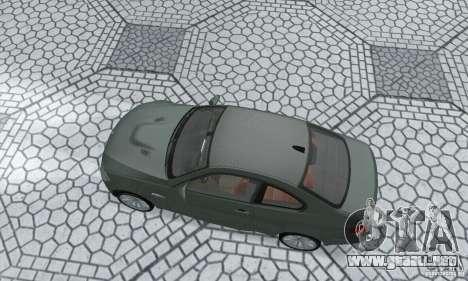 BMW M3 E92 Stock para la visión correcta GTA San Andreas