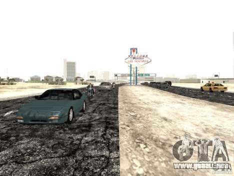 New roads in Las Venturas para GTA San Andreas tercera pantalla