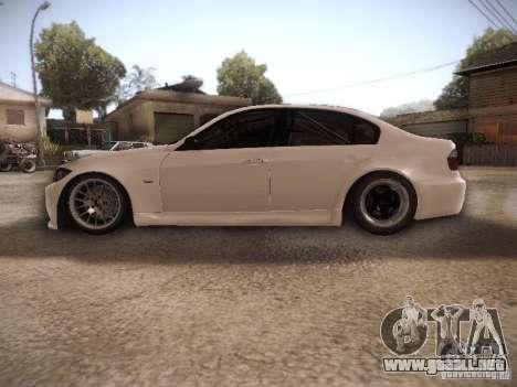 BMW 320SI Drift para GTA San Andreas left