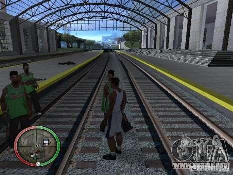 La gente de lluvia para GTA San Andreas quinta pantalla