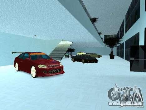 Nuevo showroom en San Fierro para GTA San Andreas segunda pantalla