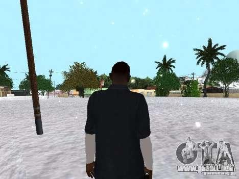 Snow MOD 2012-2013 para GTA San Andreas quinta pantalla