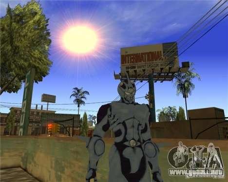 Guyver-I Demo para GTA San Andreas tercera pantalla