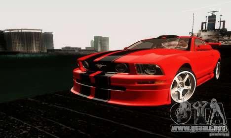 Ford Mustang GT Tunable para GTA San Andreas