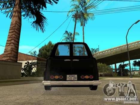 GTA IV TLAD para GTA San Andreas vista posterior izquierda