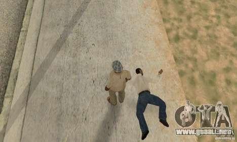 Colisión de GTA 4 para GTA San Andreas