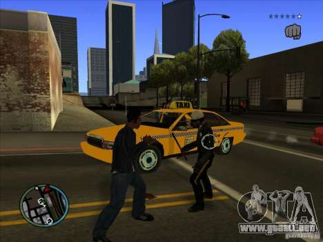 GTA IV TARGET SYSTEM 3.2 para GTA San Andreas