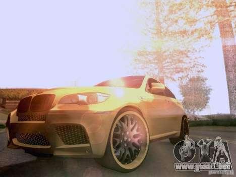 BMW X6M Hamann para el motor de GTA San Andreas