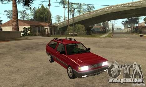 VW Parati GL 1994 para GTA San Andreas vista hacia atrás