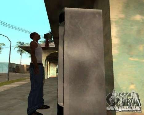 Nuevas máquinas para GTA San Andreas sucesivamente de pantalla