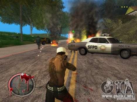 GTA IV HUD Final para GTA San Andreas quinta pantalla