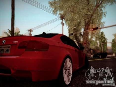 BMW E92 v2 Updated para la visión correcta GTA San Andreas