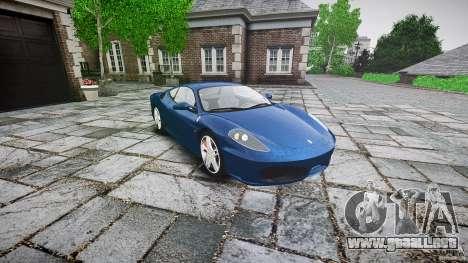 Ferrari F430 v1.1 2005 para GTA 4