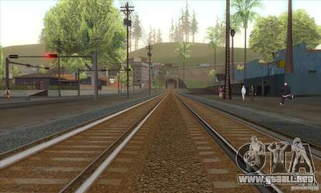 Russian Rail v2.0 para GTA San Andreas segunda pantalla