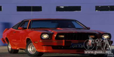 Pantallas de carga en el estilo del Ford Mustang para GTA San Andreas twelth pantalla
