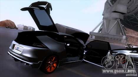 Honda CR-Z Mugen 2011 V1.0 para vista inferior GTA San Andreas