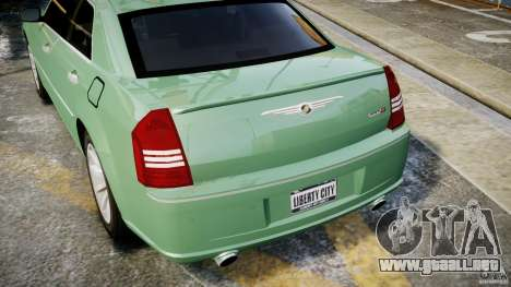 Chrysler 300C SRT8 Tuning para GTA motor 4