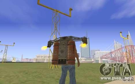 Jetpack en el estilo de la URSS para GTA San Andreas segunda pantalla