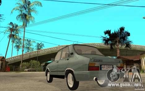 Dacia 1310 L Custom-RK para GTA San Andreas vista posterior izquierda