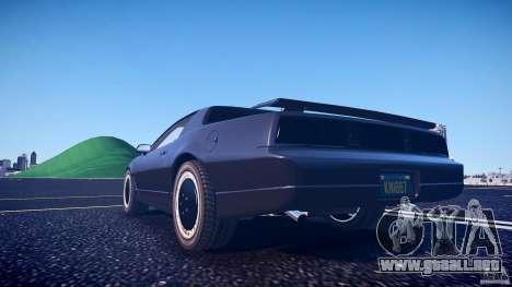 Knight Rider [EPM] para GTA 4 vista desde abajo