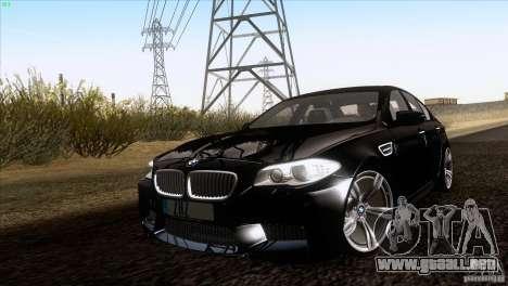 BMW M5 2012 para GTA San Andreas