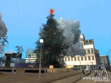 Víspera de año nuevo en la calle Grove para GTA San Andreas octavo de pantalla