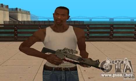 Ballesta de Black Ops para GTA San Andreas segunda pantalla