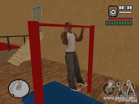 Training and Charging para GTA San Andreas