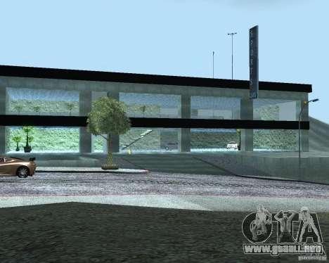 HD Motor Show para GTA San Andreas segunda pantalla